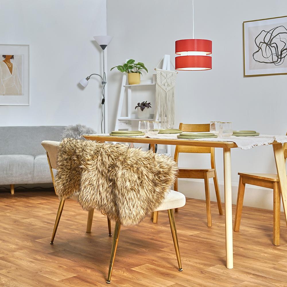 Modern-Easy-Fit-Cotton-Drum-Ceiling-Pendant-Lampshades-Modern-Light-Lighting thumbnail 34