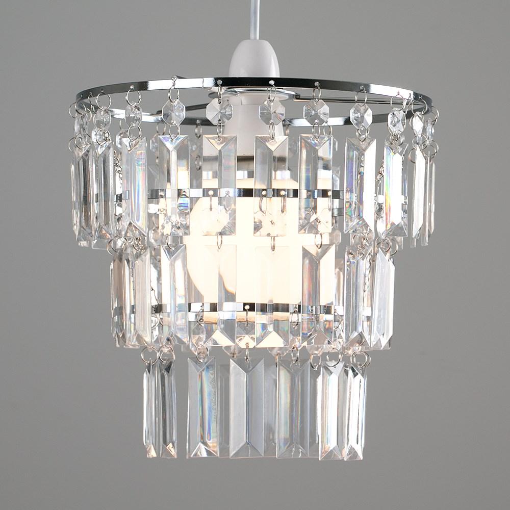 Modern-3-Tier-Ceiling-Pendant-Acrylic-Crystal-Light-Lamp-Shade-Chandelier-Shade thumbnail 10
