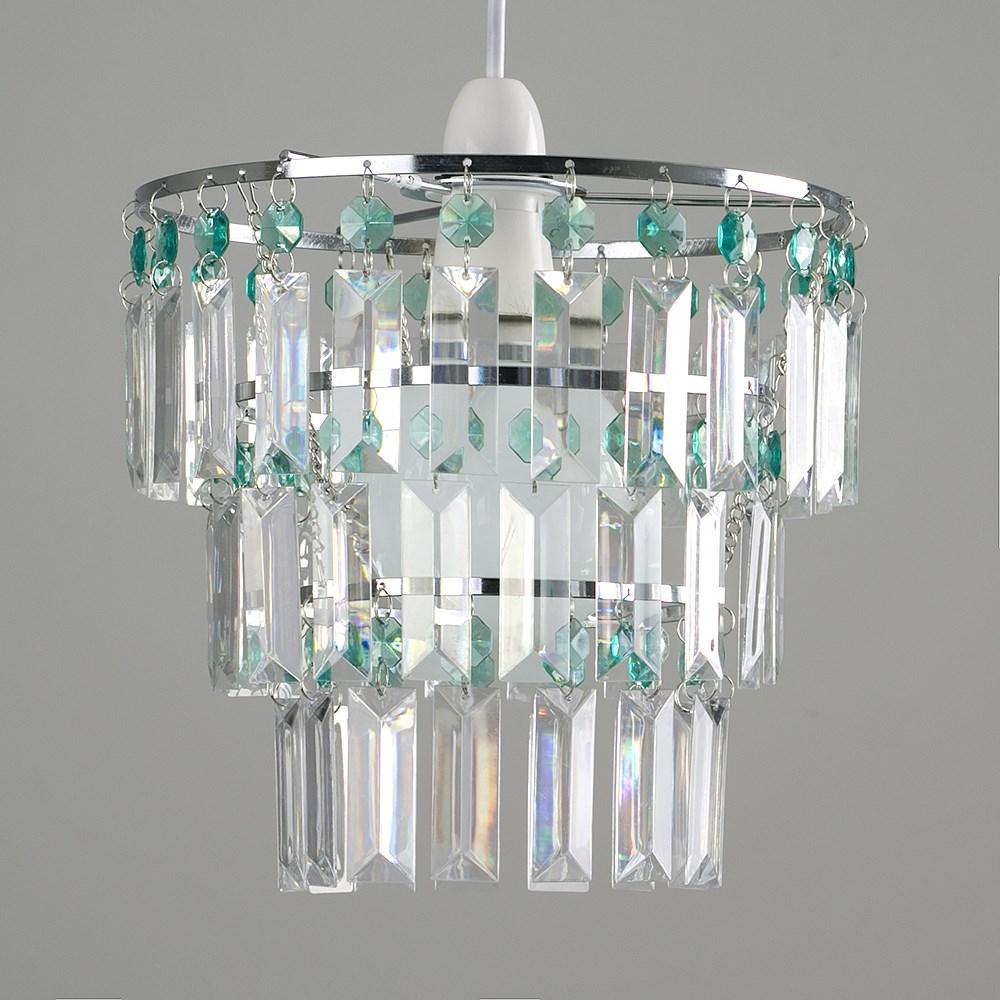 Modern-3-Tier-Ceiling-Pendant-Acrylic-Crystal-Light-Lamp-Shade-Chandelier-Shade thumbnail 30