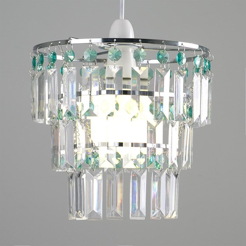 Modern-3-Tier-Ceiling-Pendant-Acrylic-Crystal-Light-Lamp-Shade-Chandelier-Shade thumbnail 31