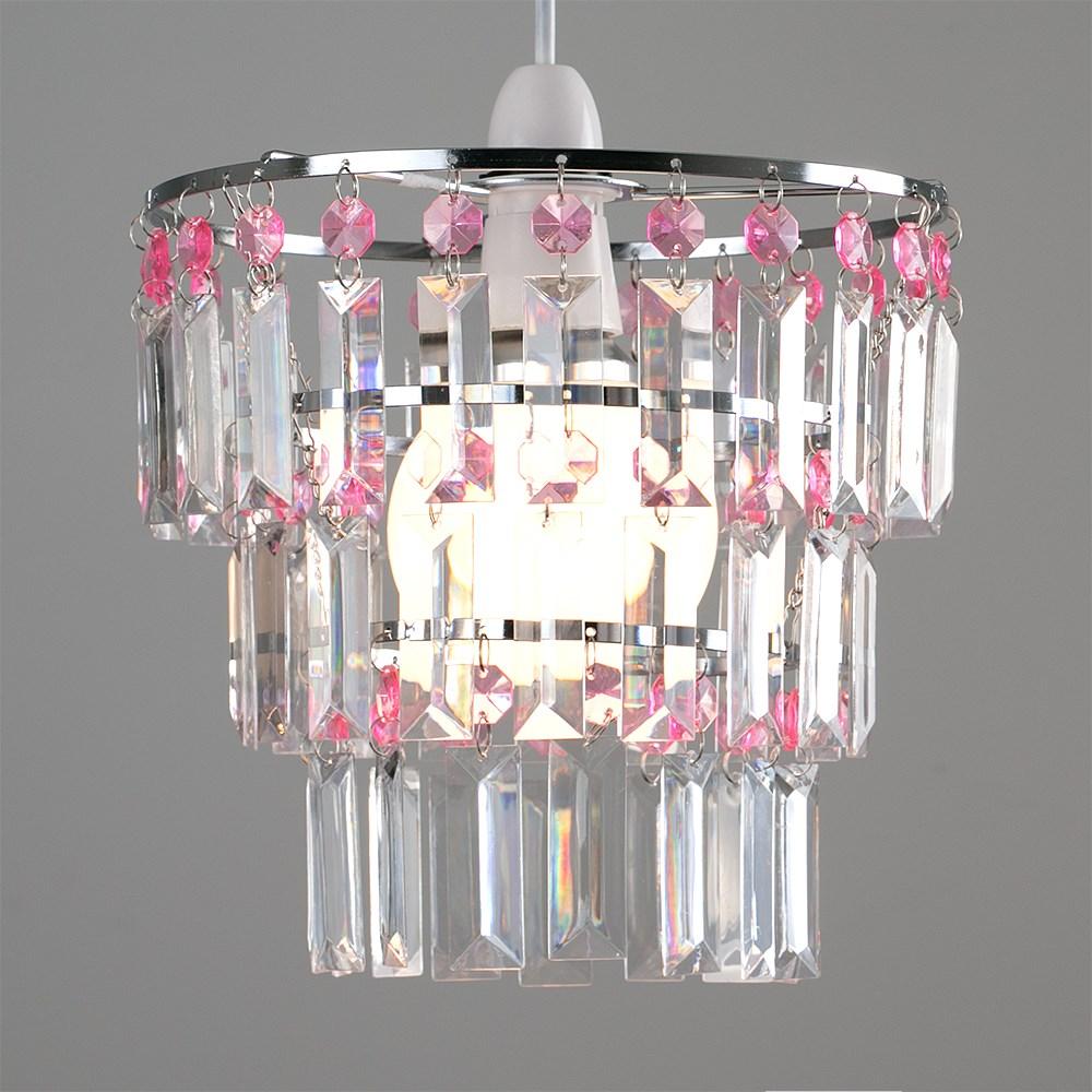 Modern-3-Tier-Ceiling-Pendant-Acrylic-Crystal-Light-Lamp-Shade-Chandelier-Shade thumbnail 22
