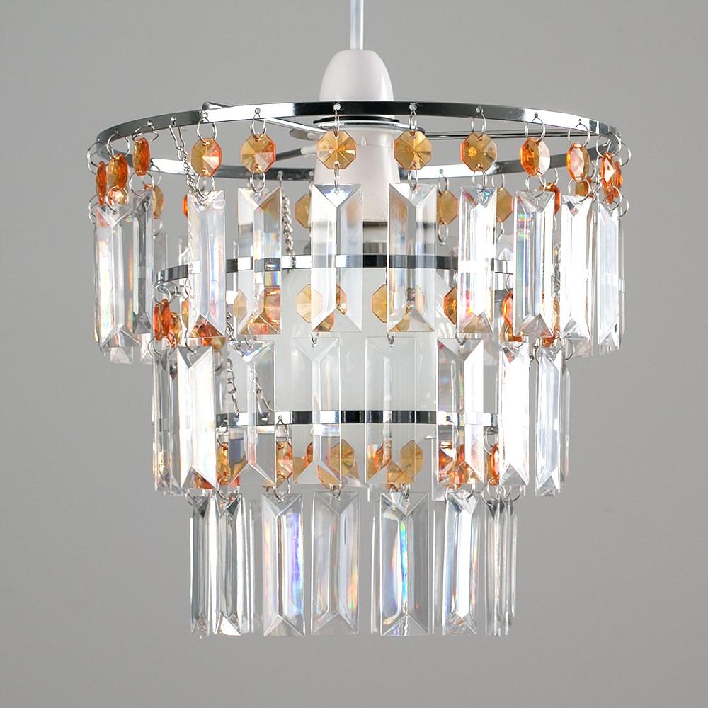 Modern-3-Tier-Ceiling-Pendant-Acrylic-Crystal-Light-Lamp-Shade-Chandelier-Shade thumbnail 18