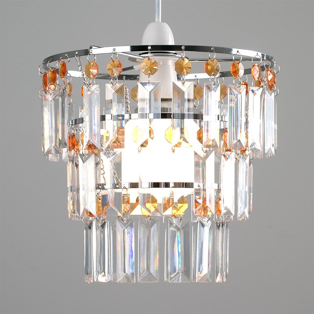 Modern-3-Tier-Ceiling-Pendant-Acrylic-Crystal-Light-Lamp-Shade-Chandelier-Shade thumbnail 19