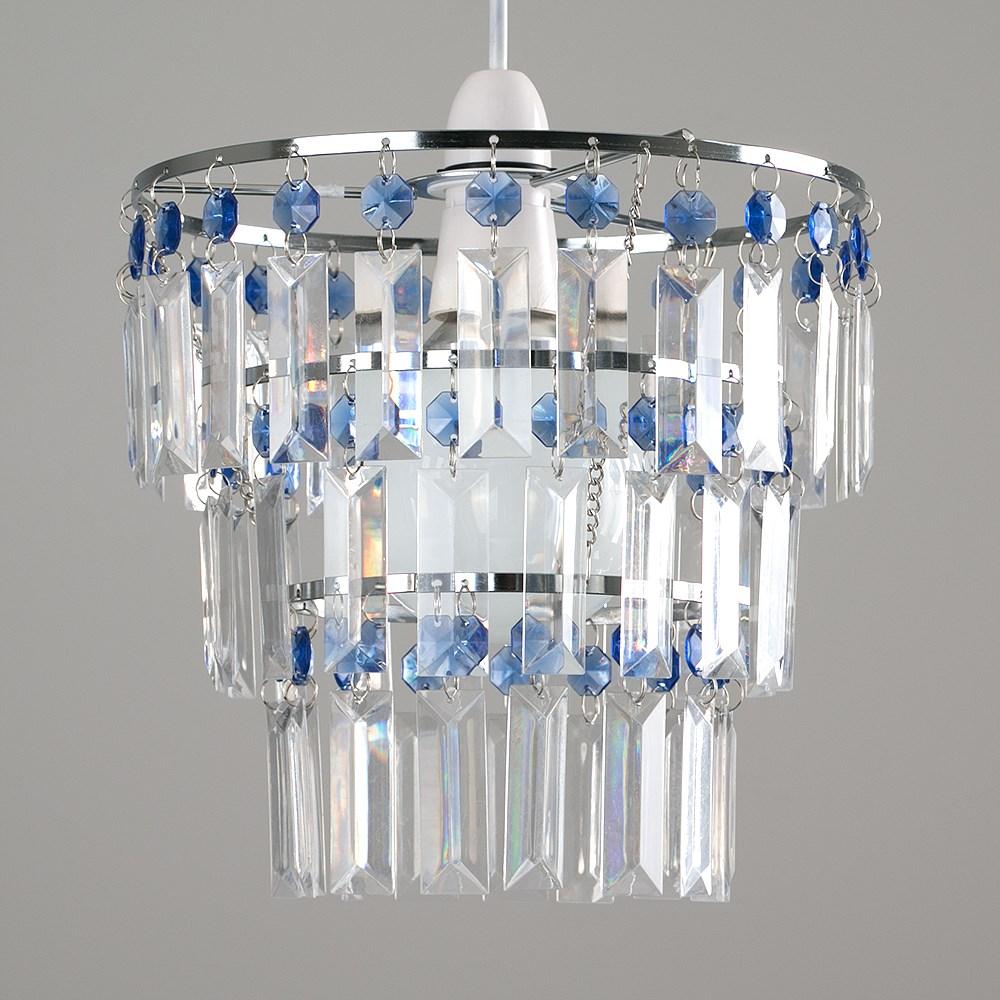 Modern-3-Tier-Ceiling-Pendant-Acrylic-Crystal-Light-Lamp-Shade-Chandelier-Shade thumbnail 6