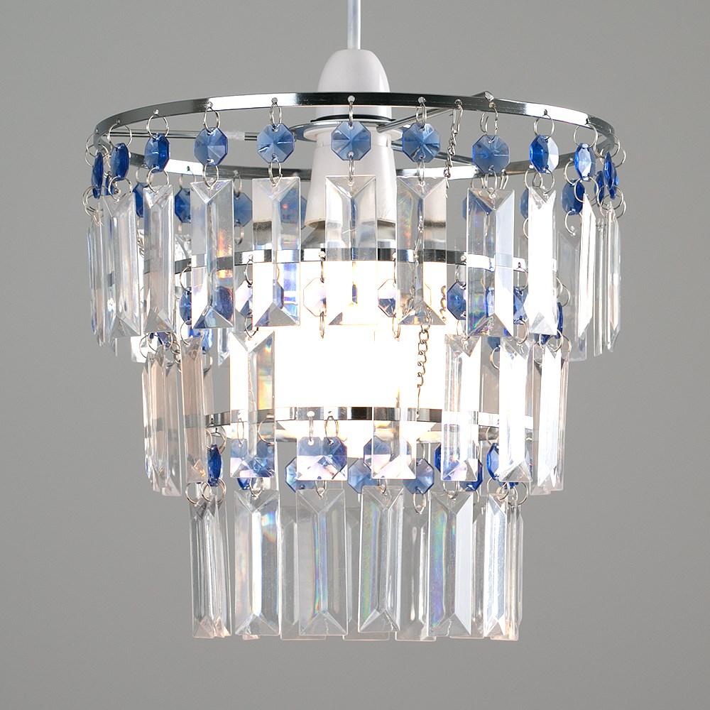 Modern-3-Tier-Ceiling-Pendant-Acrylic-Crystal-Light-Lamp-Shade-Chandelier-Shade thumbnail 7