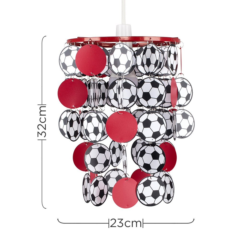 Children-039-s-Ceiling-Pendant-Shade-Kids-Football-Bedroom-Lampshades-Easy-Fit-Light thumbnail 27