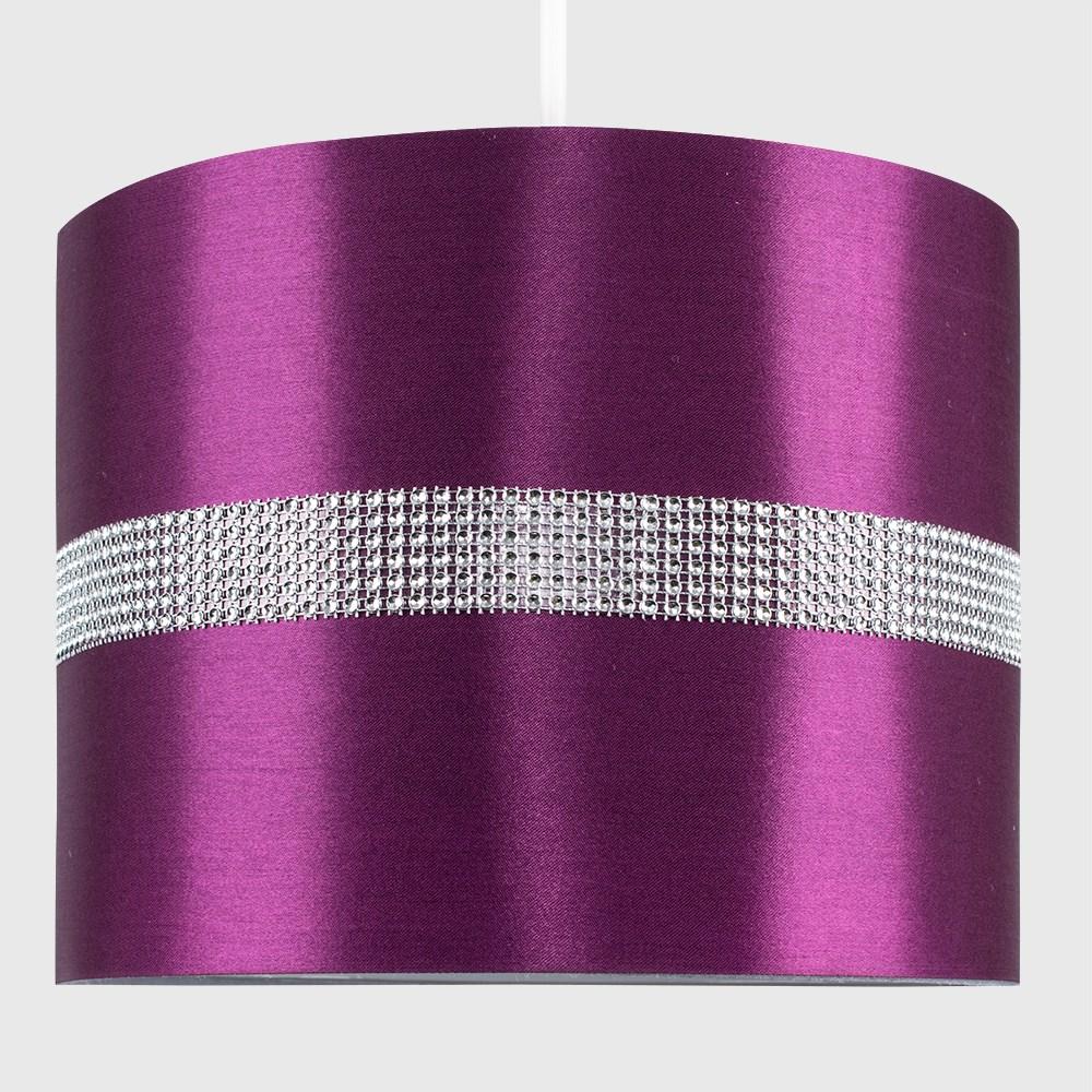 Diamante-non-elettrico-in-Tessuto-Cotone-Tamburo-Tonalita-Tavolo-O-Lampadario-Lampada-da-terra miniatura 19