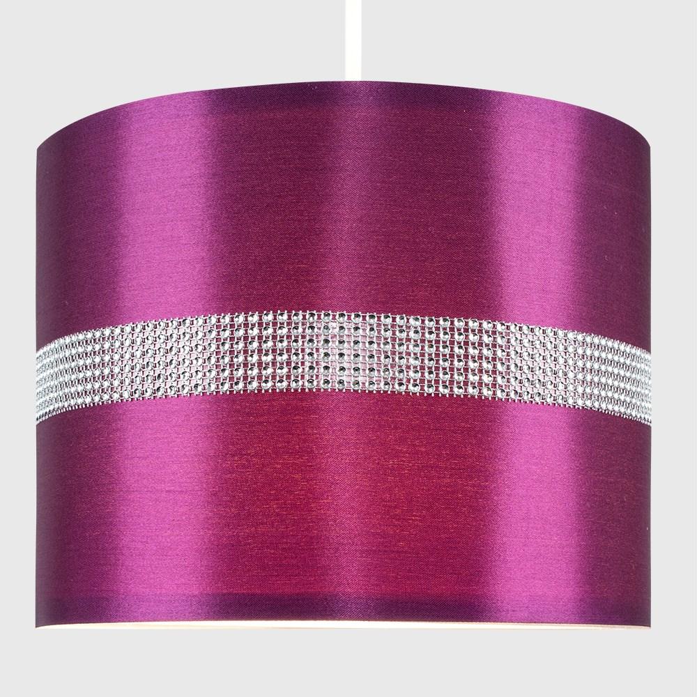 Diamante-non-elettrico-in-Tessuto-Cotone-Tamburo-Tonalita-Tavolo-O-Lampadario-Lampada-da-terra miniatura 20