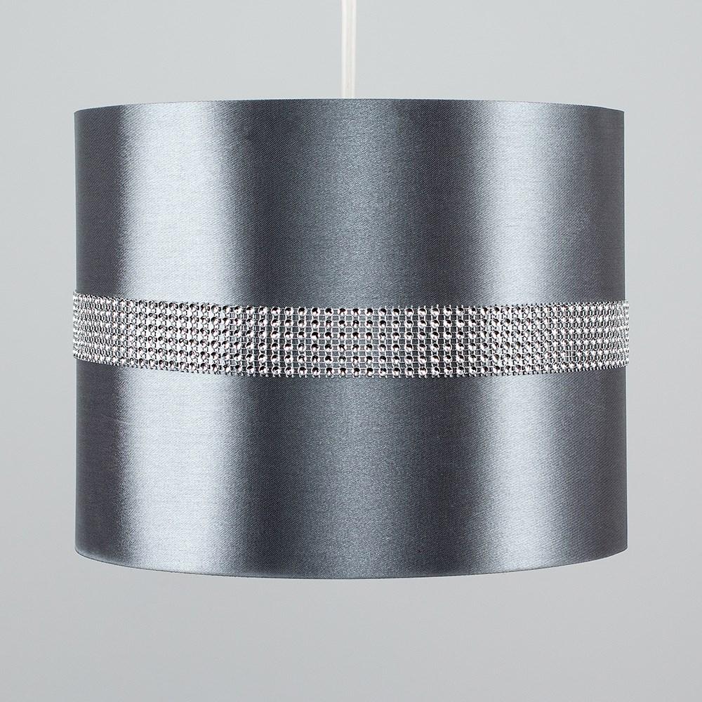 Diamante-non-elettrico-in-Tessuto-Cotone-Tamburo-Tonalita-Tavolo-O-Lampadario-Lampada-da-terra miniatura 10