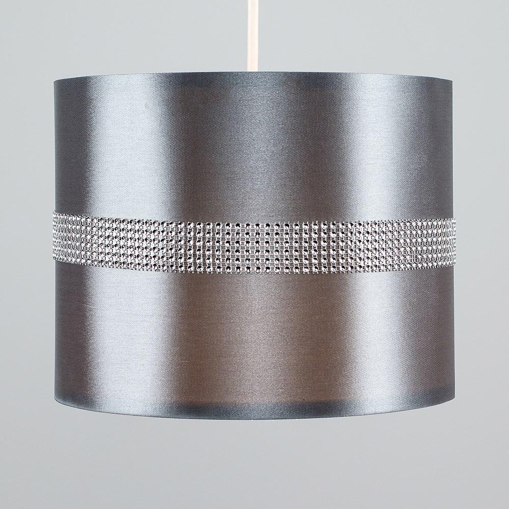 Diamante-non-elettrico-in-Tessuto-Cotone-Tamburo-Tonalita-Tavolo-O-Lampadario-Lampada-da-terra miniatura 11