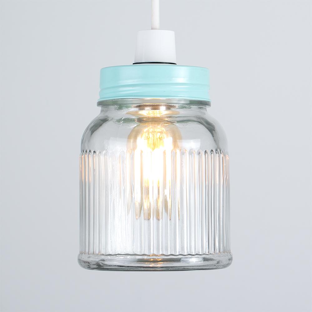 Vintage-Retro-Style-Jar-Gift-Ceiling-Pendant-Light-Lamp-Shades-Glass-Lighting thumbnail 46