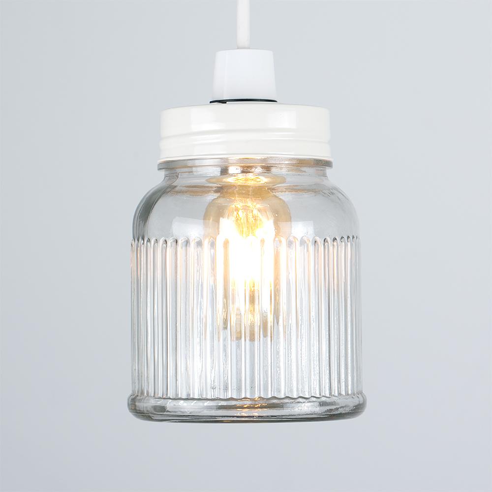 Vintage-Retro-Style-Jar-Gift-Ceiling-Pendant-Light-Lamp-Shades-Glass-Lighting thumbnail 36