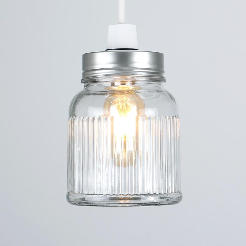 Vintage-Retro-Style-Jar-Gift-Ceiling-Pendant-Light-Lamp-Shades-Glass-Lighting thumbnail 16
