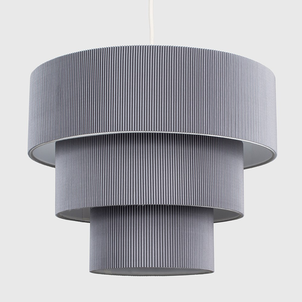 Modern-Easy-Fit-3-Animal-Cotton-Fabric-Ceiling-HOMOLOGUE-Light-Lampshade-Shades-New miniature 7