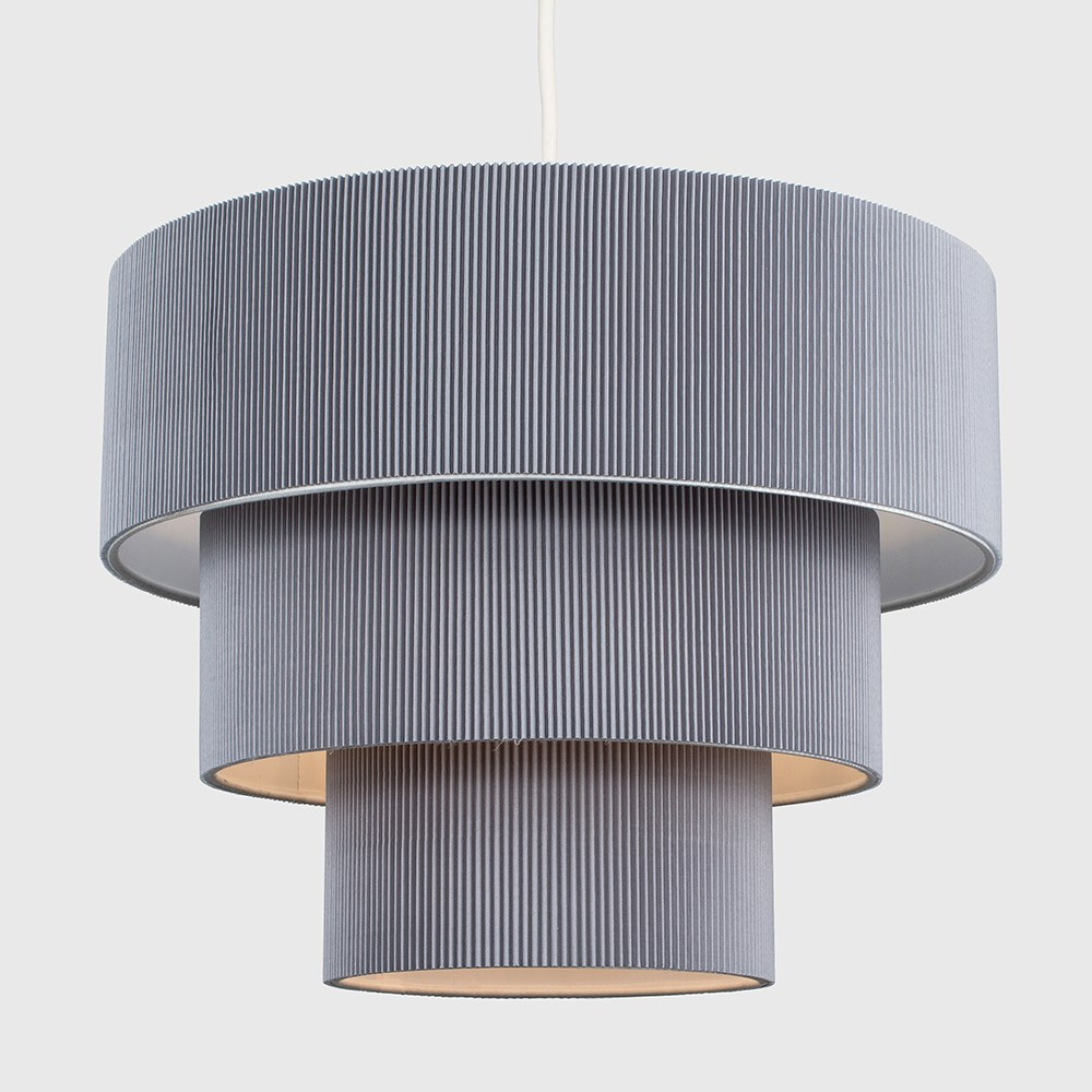 Modern-Easy-Fit-3-Animal-Cotton-Fabric-Ceiling-HOMOLOGUE-Light-Lampshade-Shades-New miniature 8