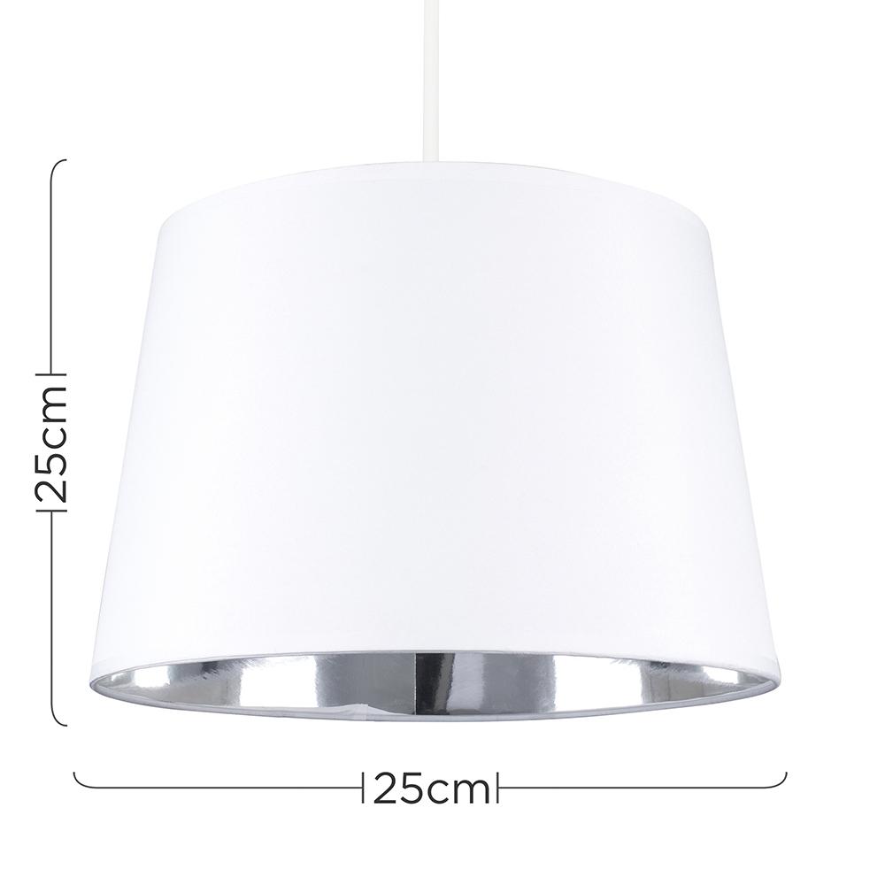 Moderno-Bianco-Da-Soffitto-Tavolo-O-Lampadario-Lampada-da-terra-paralume-colorato-interno miniatura 9