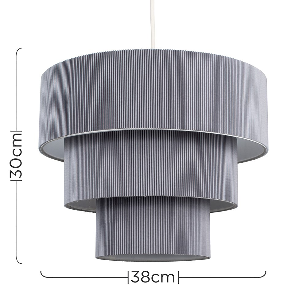 Modern-Easy-Fit-3-Animal-Cotton-Fabric-Ceiling-HOMOLOGUE-Light-Lampshade-Shades-New miniature 11