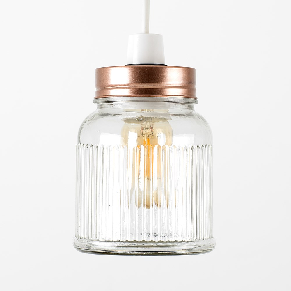 Vintage-Retro-Style-Jar-Gift-Ceiling-Pendant-Light-Lamp-Shades-Glass-Lighting thumbnail 25