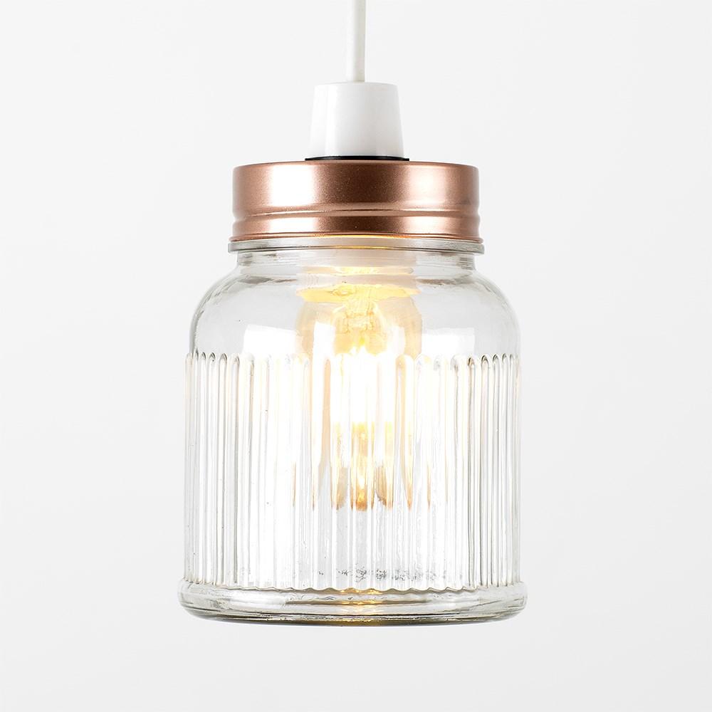 Vintage-Retro-Style-Jar-Gift-Ceiling-Pendant-Light-Lamp-Shades-Glass-Lighting thumbnail 26