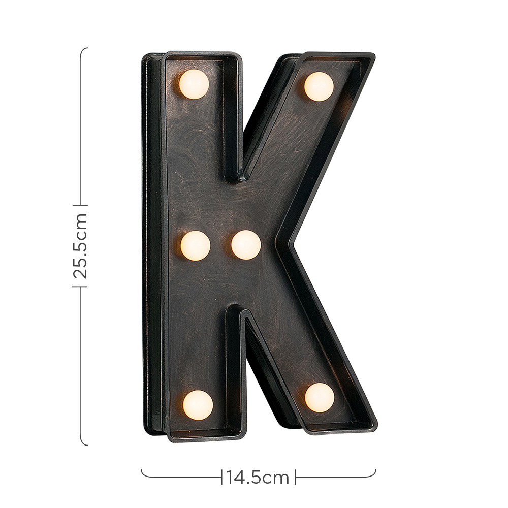 Vintage-Style-Bronze-A-Z-Light-Up-Marquee-Letters-Carnival-Personalised thumbnail 46