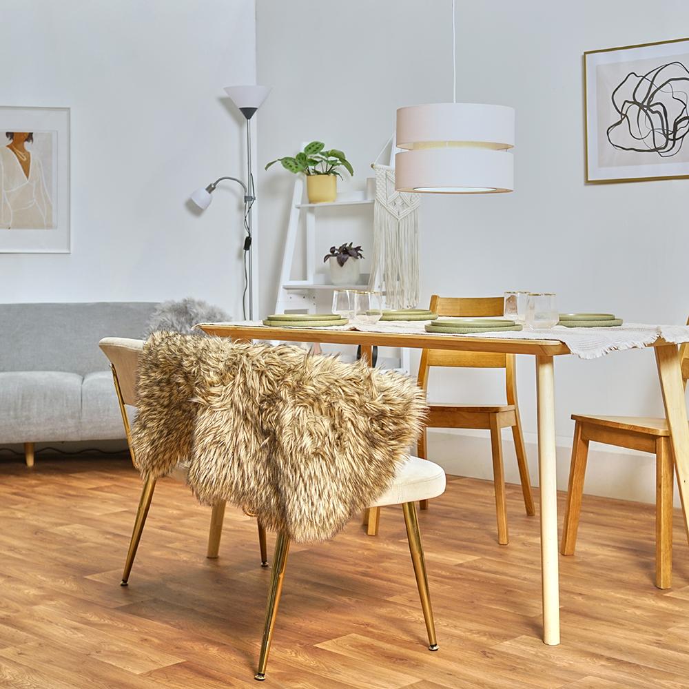 Modern-Easy-Fit-Cotton-Drum-Ceiling-Pendant-Lampshades-Modern-Light-Lighting thumbnail 19