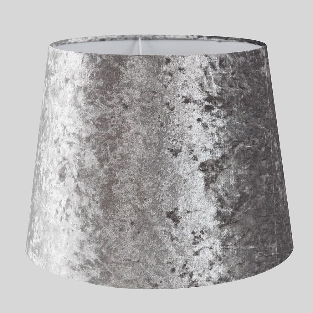 Grande-Facil-Ajuste-Conico-Lampara-de-Techo-Colgante-De-Terciopelo-Mesa-Pantalla-De-Piso miniatura 23