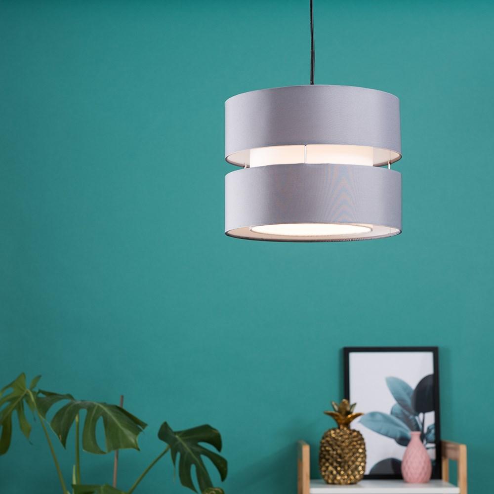 Modern-Easy-Fit-Cotton-Drum-Ceiling-Pendant-Lampshades-Modern-Light-Lighting thumbnail 31