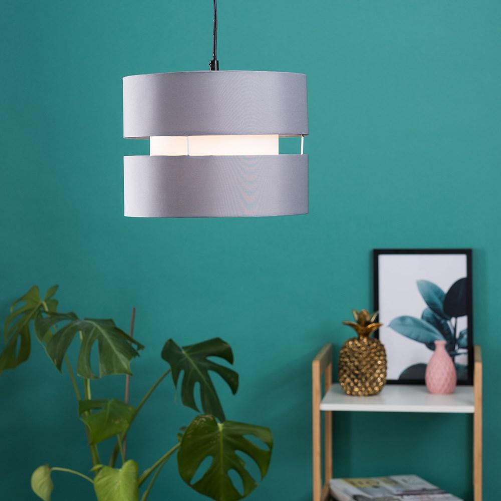 Modern-Easy-Fit-Cotton-Drum-Ceiling-Pendant-Lampshades-Modern-Light-Lighting thumbnail 30