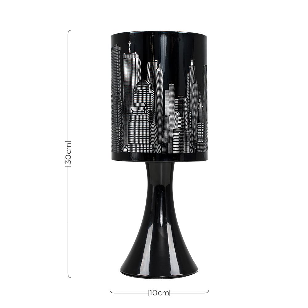 New-York-Skyline-Designer-Touch-Home-Table-Lamp-Ceiling-Shade-Bedroom-Floor-Lamp thumbnail 8