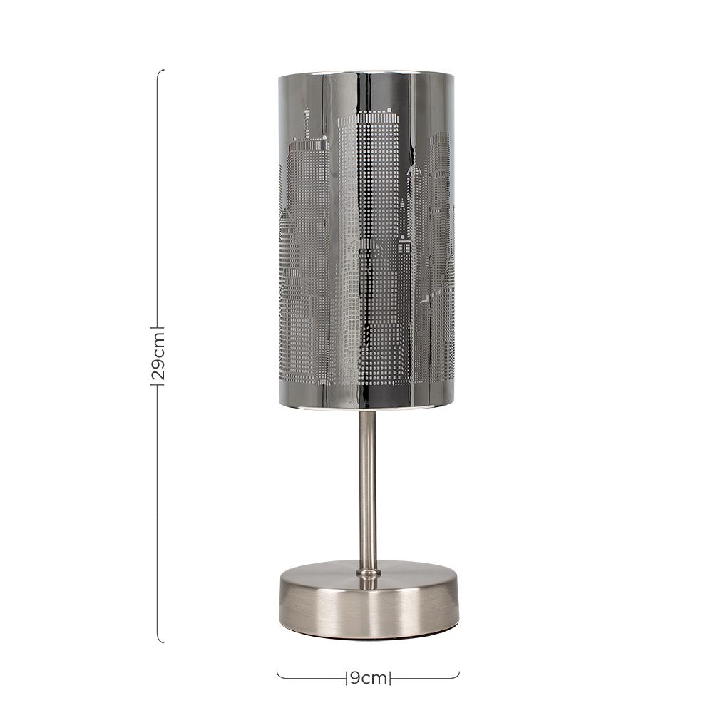 New-York-Skyline-Designer-Touch-Home-Table-Lamp-Ceiling-Shade-Bedroom-Floor-Lamp thumbnail 69