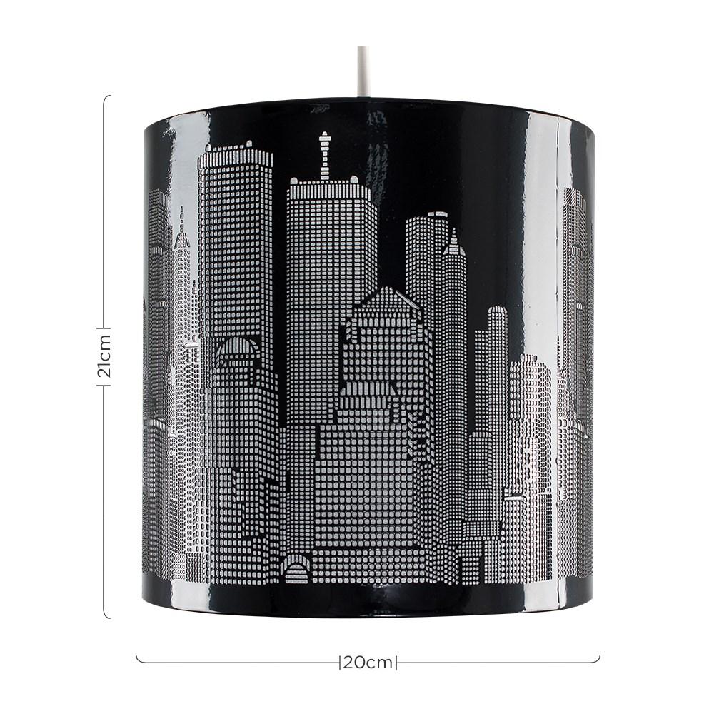 New-York-Skyline-Designer-Touch-Home-Table-Lamp-Ceiling-Shade-Bedroom-Floor-Lamp thumbnail 28