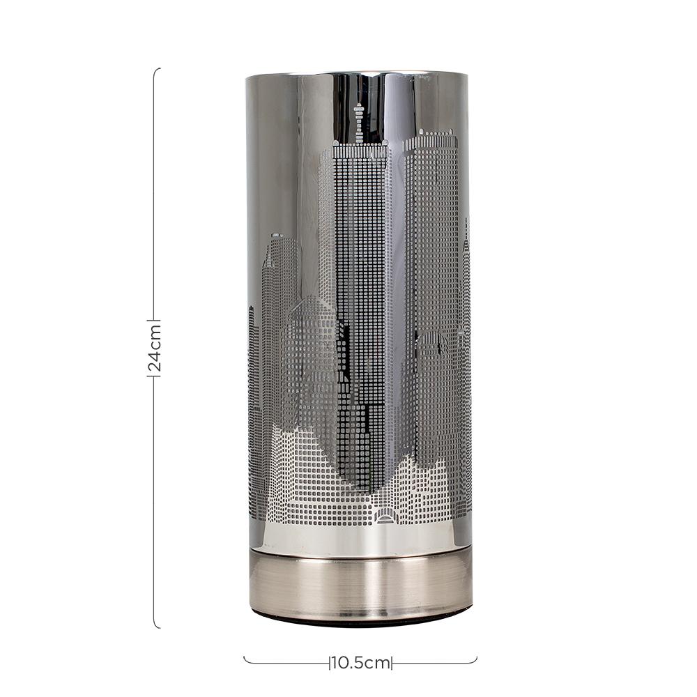 New-York-Skyline-Designer-Touch-Home-Table-Lamp-Ceiling-Shade-Bedroom-Floor-Lamp thumbnail 52