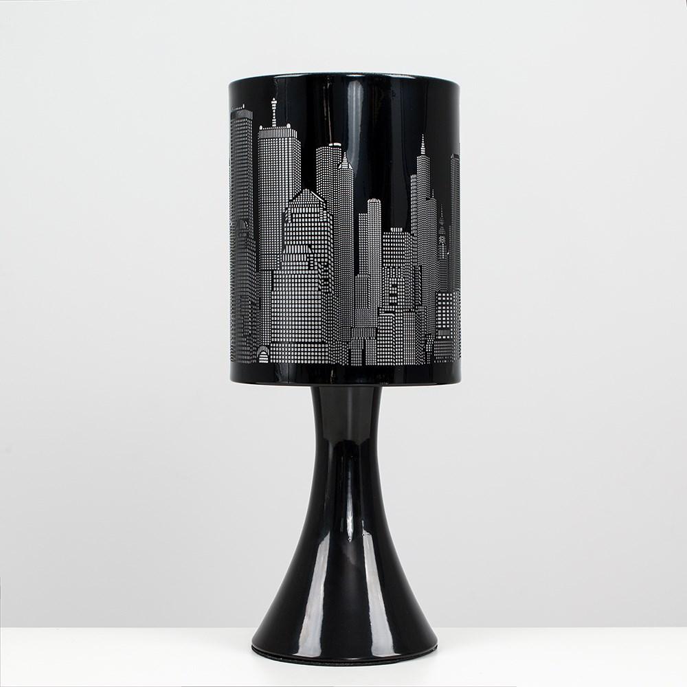 New-York-Skyline-Designer-Touch-Home-Table-Lamp-Ceiling-Shade-Bedroom-Floor-Lamp thumbnail 3