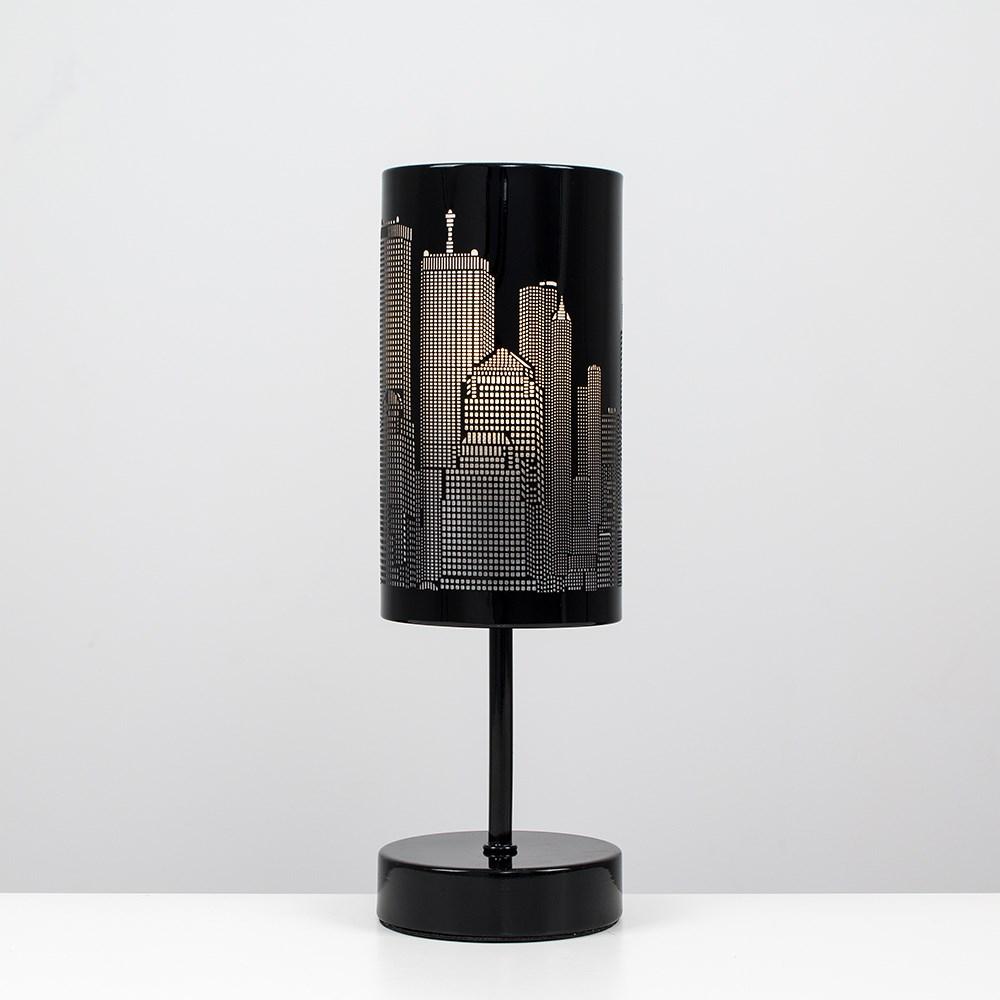 New-York-Skyline-Designer-Touch-Home-Table-Lamp-Ceiling-Shade-Bedroom-Floor-Lamp thumbnail 33
