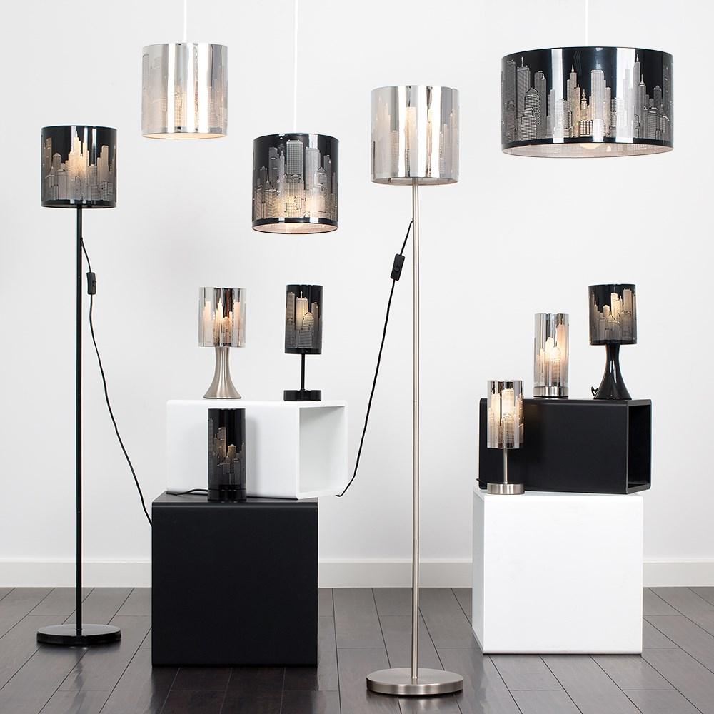 New-York-Skyline-Designer-Touch-Home-Table-Lamp-Ceiling-Shade-Bedroom-Floor-Lamp thumbnail 10