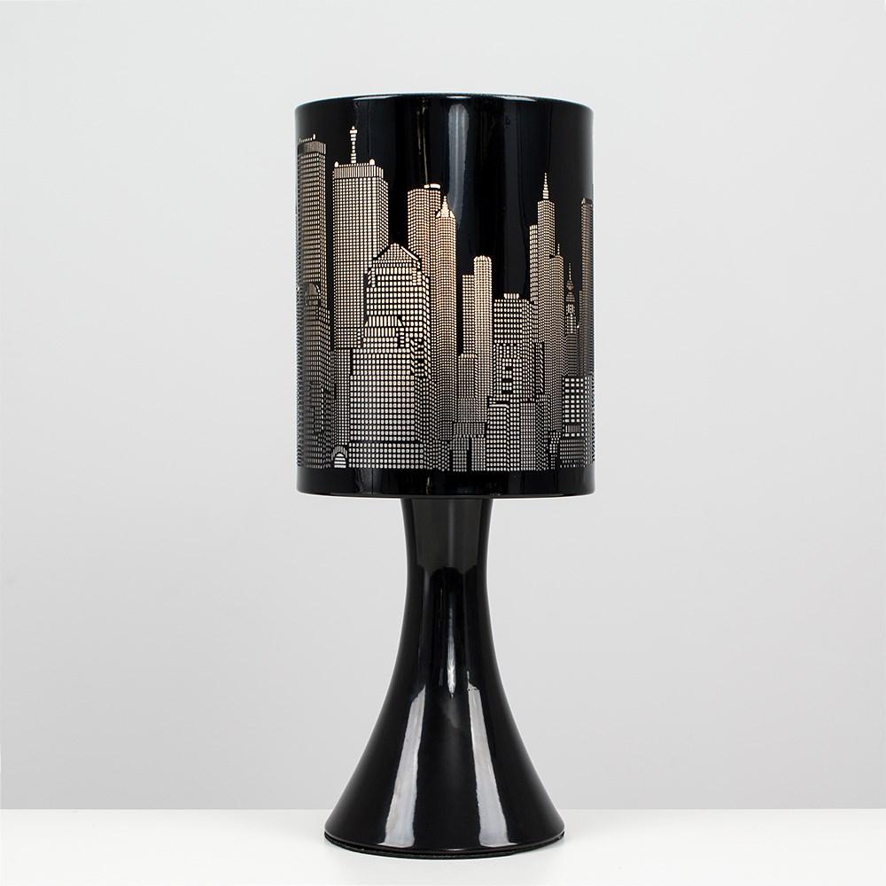 New-York-Skyline-Designer-Touch-Home-Table-Lamp-Ceiling-Shade-Bedroom-Floor-Lamp thumbnail 4
