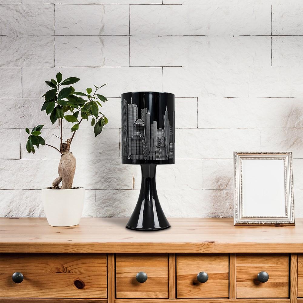 New-York-Skyline-Designer-Touch-Home-Table-Lamp-Ceiling-Shade-Bedroom-Floor-Lamp thumbnail 9