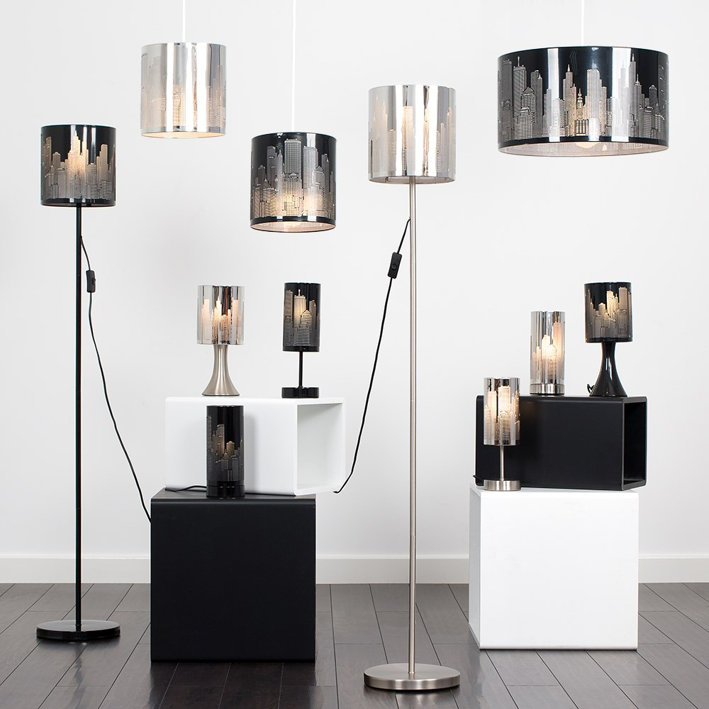 New-York-Skyline-Designer-Touch-Home-Table-Lamp-Ceiling-Shade-Bedroom-Floor-Lamp thumbnail 30