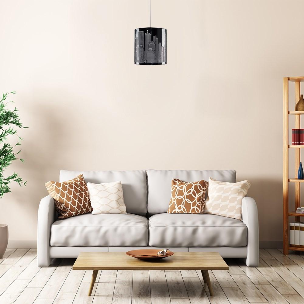 New-York-Skyline-Designer-Touch-Home-Table-Lamp-Ceiling-Shade-Bedroom-Floor-Lamp thumbnail 29