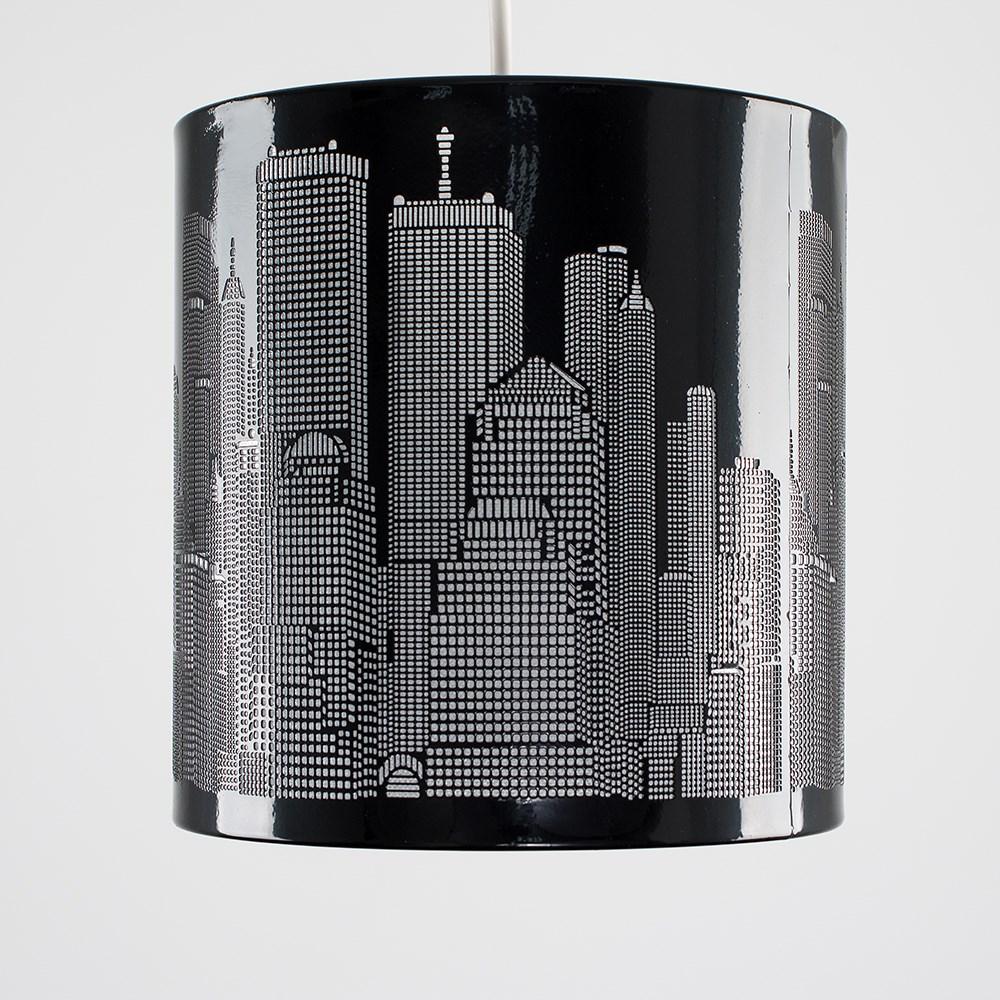 New-York-Skyline-Designer-Touch-Home-Table-Lamp-Ceiling-Shade-Bedroom-Floor-Lamp thumbnail 25