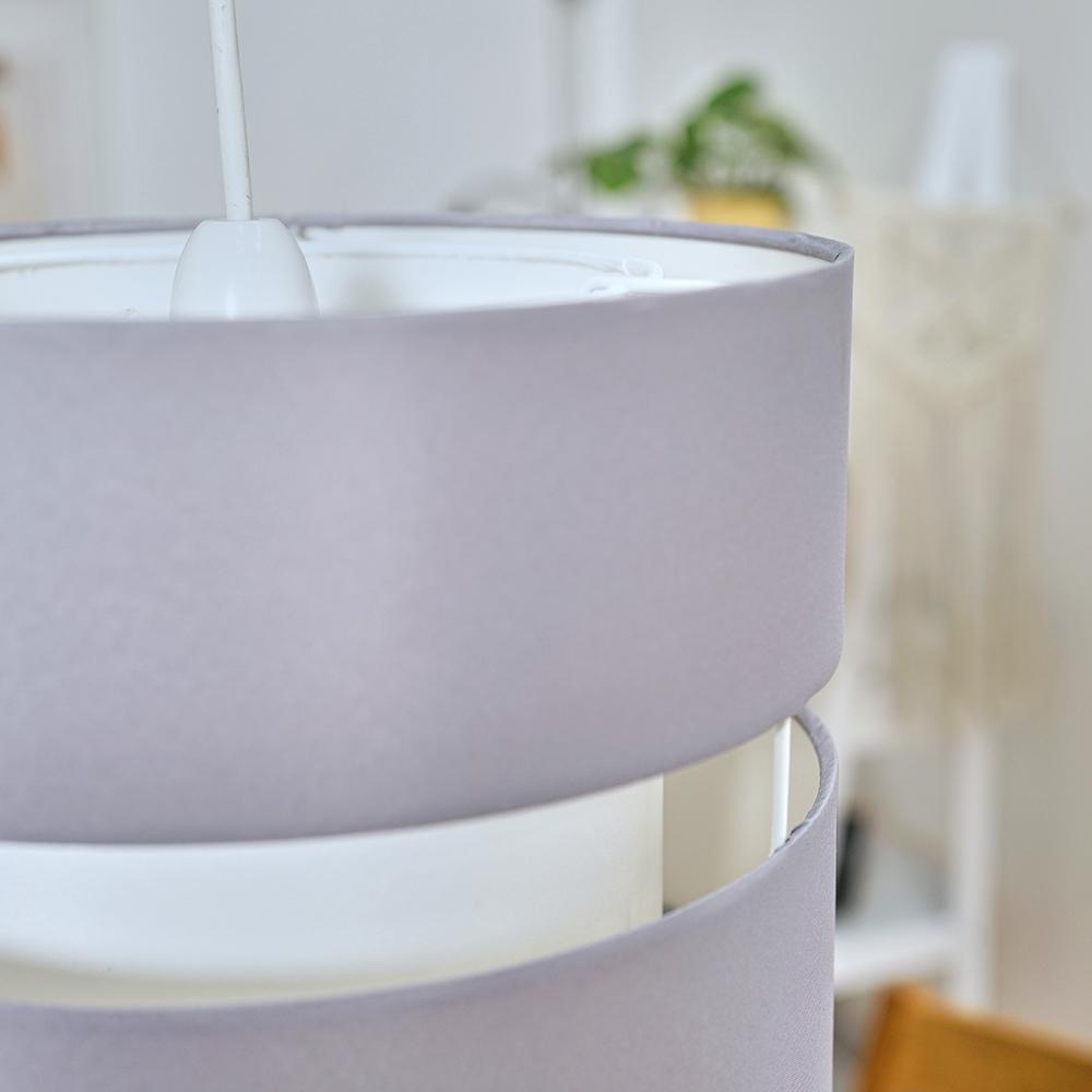 Modern-Easy-Fit-Cotton-Drum-Ceiling-Pendant-Lampshades-Modern-Light-Lighting thumbnail 28