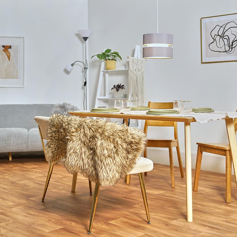 Modern-Easy-Fit-Cotton-Drum-Ceiling-Pendant-Lampshades-Modern-Light-Lighting thumbnail 25