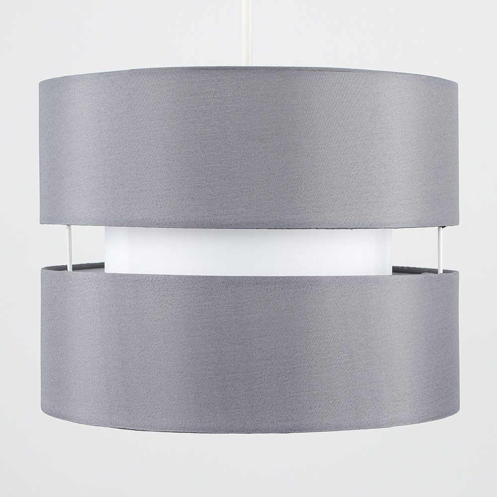 Modern-Easy-Fit-Cotton-Drum-Ceiling-Pendant-Lampshades-Modern-Light-Lighting thumbnail 24