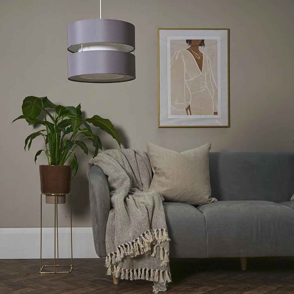 Modern-Easy-Fit-Cotton-Drum-Ceiling-Pendant-Lampshades-Modern-Light-Lighting thumbnail 27