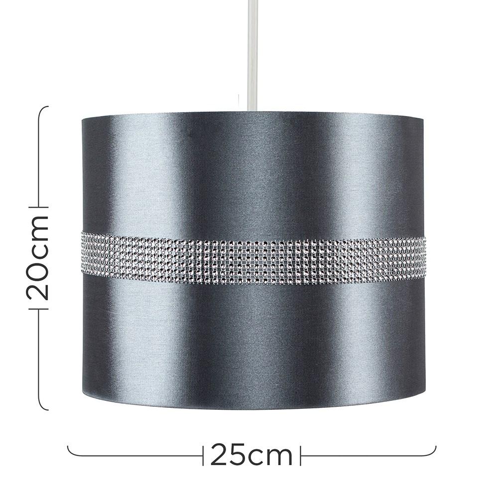Diamante-non-elettrico-in-Tessuto-Cotone-Tamburo-Tonalita-Tavolo-O-Lampadario-Lampada-da-terra miniatura 15
