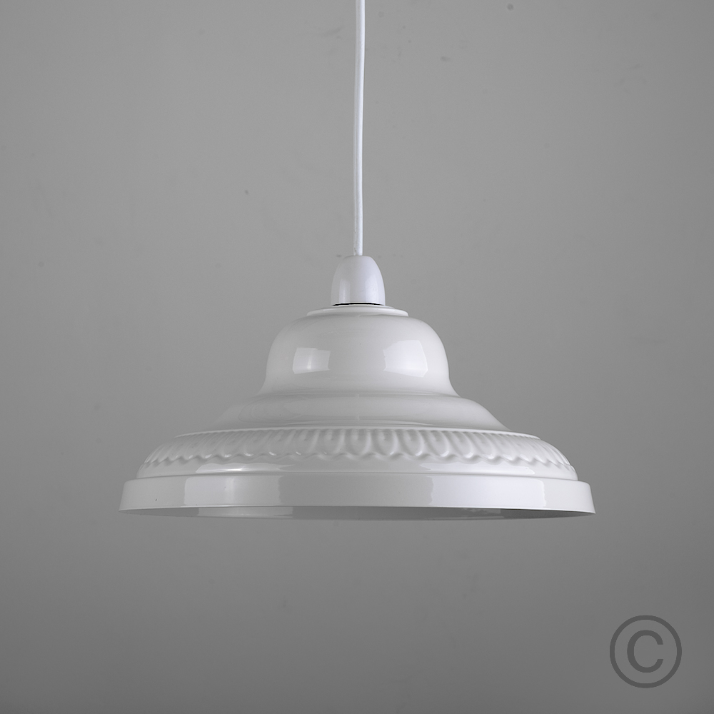Retro-Metal-Ceiling-Pendant-Light-Shade-Easy-Fit-Lampshade-Lounge-Lighting-Home thumbnail 6