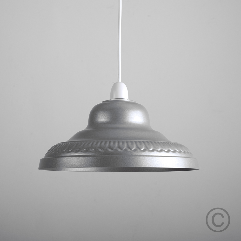 Retro-Metal-Ceiling-Pendant-Light-Shade-Easy-Fit-Lampshade-Lounge-Lighting-Home thumbnail 11