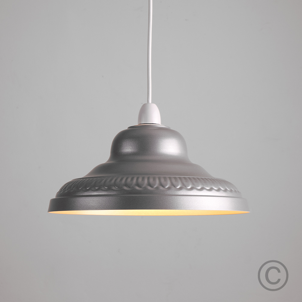 Retro-Metal-Ceiling-Pendant-Light-Shade-Easy-Fit-Lampshade-Lounge-Lighting-Home thumbnail 12