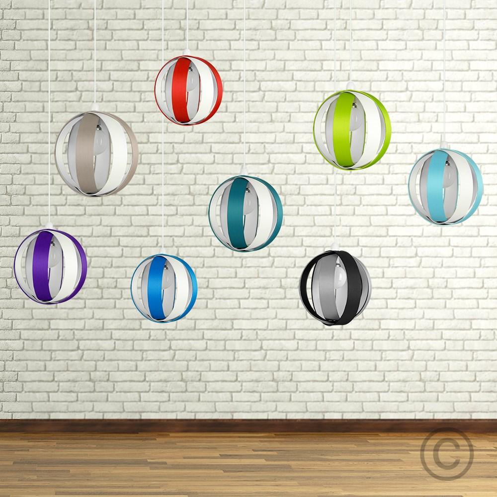 Minisun-Globe-DEL-plafond-lumiere-pendentif-nuances-Abat-jour-eclairage-Ampoule-DEL miniature 13