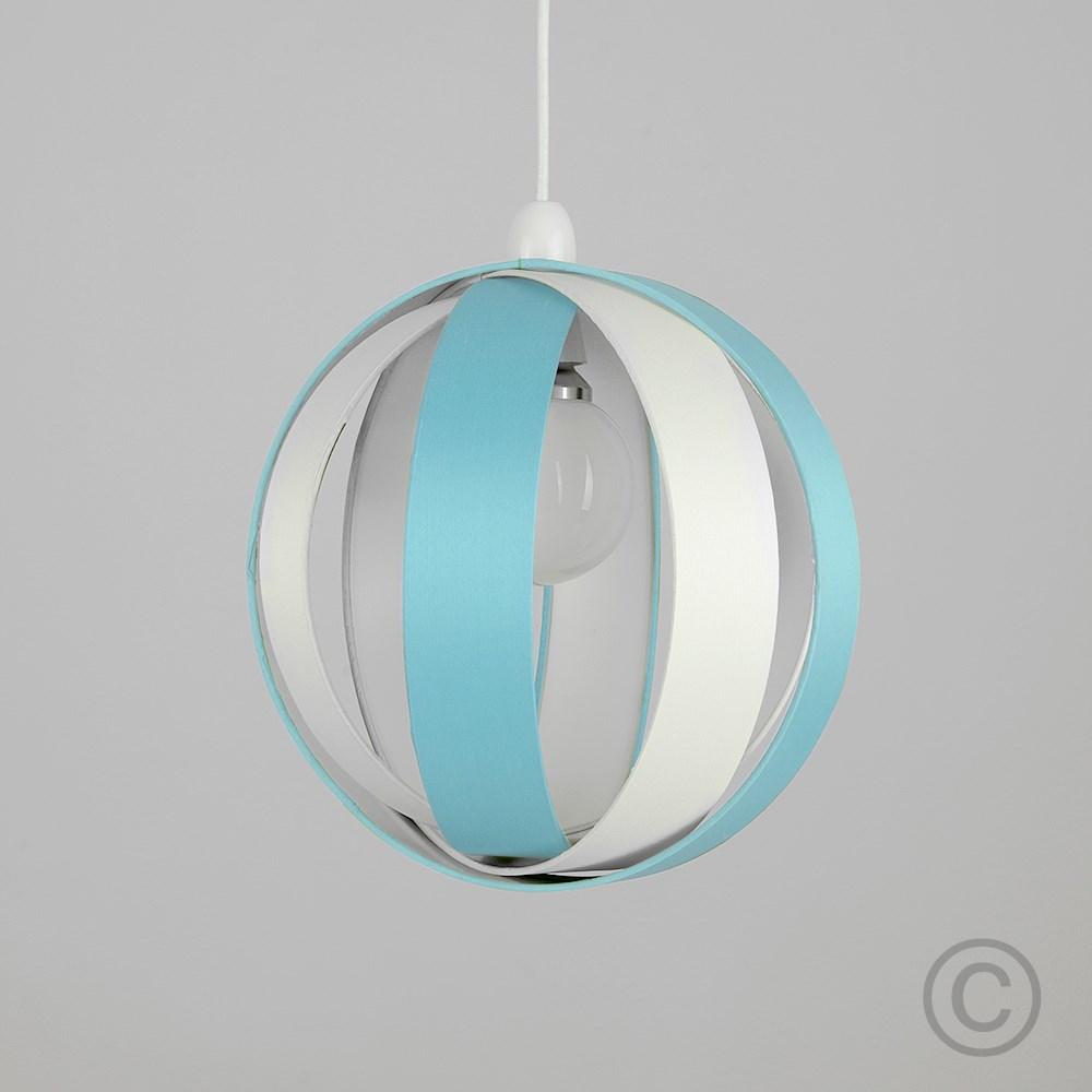 Minisun-Globe-DEL-plafond-lumiere-pendentif-nuances-Abat-jour-eclairage-Ampoule-DEL miniature 29